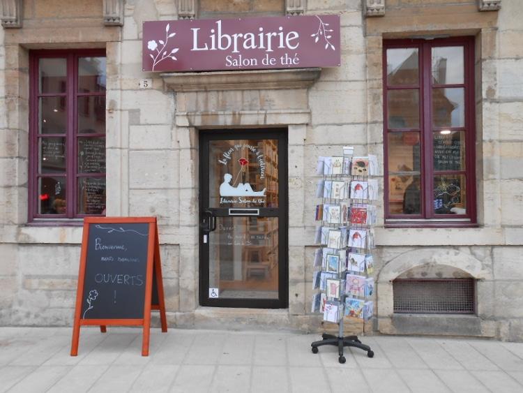 Master 2 Métiers du livre - Université de Bourgogne - La Fleur qui pousse de l'intérieur, librairie à Dijon