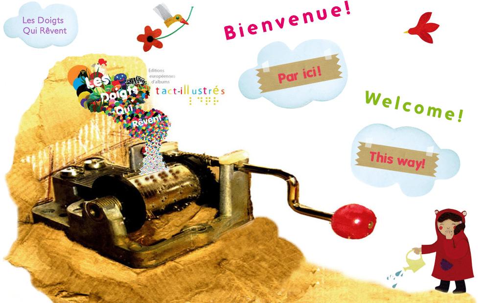 Les Doigts Qui Rêvent - maison d'édition de livres interactifs pour enfants déficients visuels