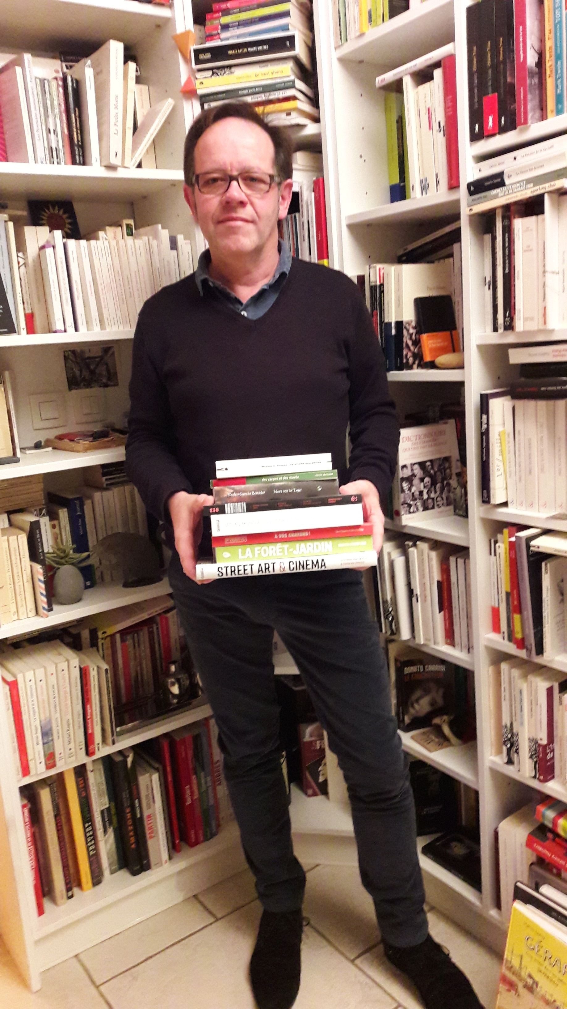 Pascal Didier, est un représentant d'édition intervenant dans le cadre de la journée d'étude du 23 novembre 2018.