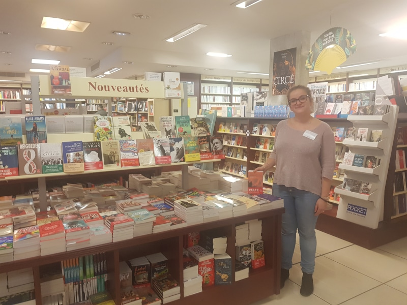 Soline Boissard à la librairie Grangier