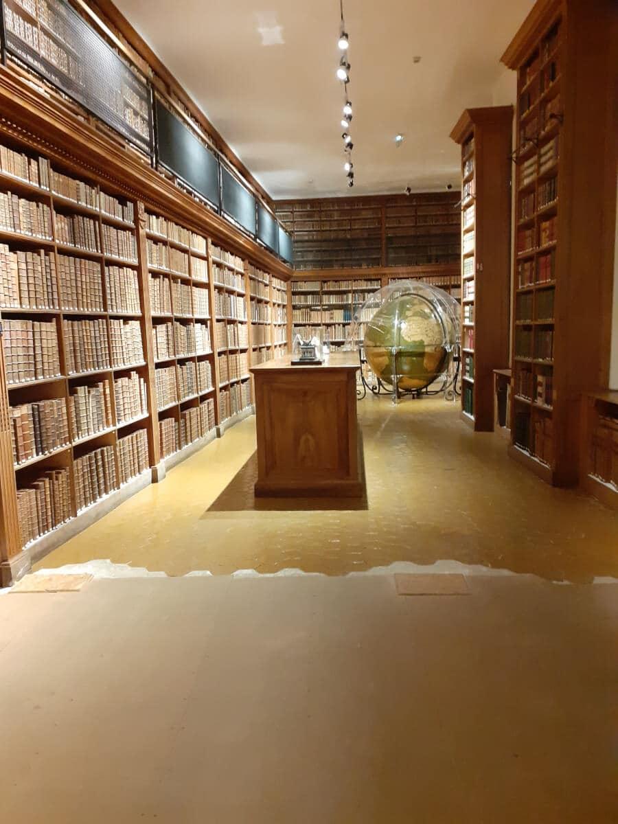 Salle du tombeau, bibliothèque patrimoniale et d'étude de Dijon